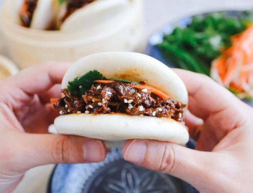 Sweet and Sticky Vegan Bao
