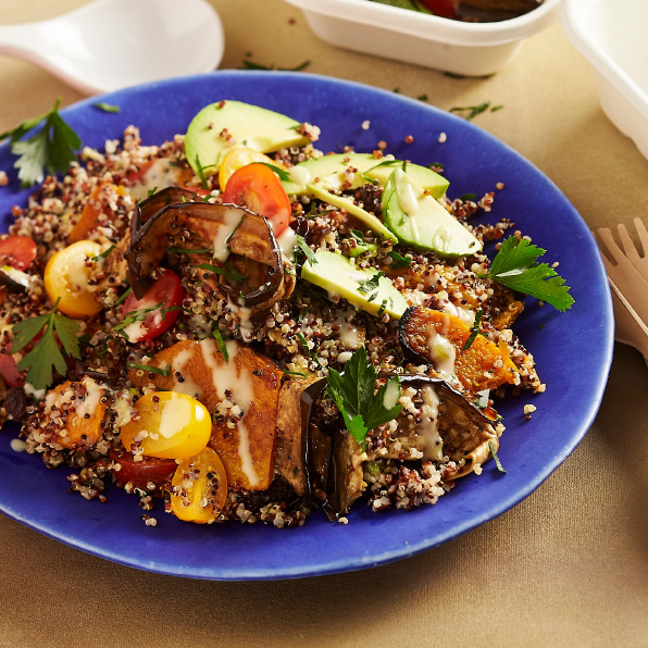 Quinoa Char Grilled Veggies